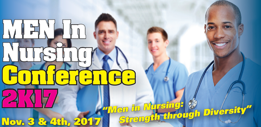 Register Now: Men in Nursing Fall 2017 header banner image