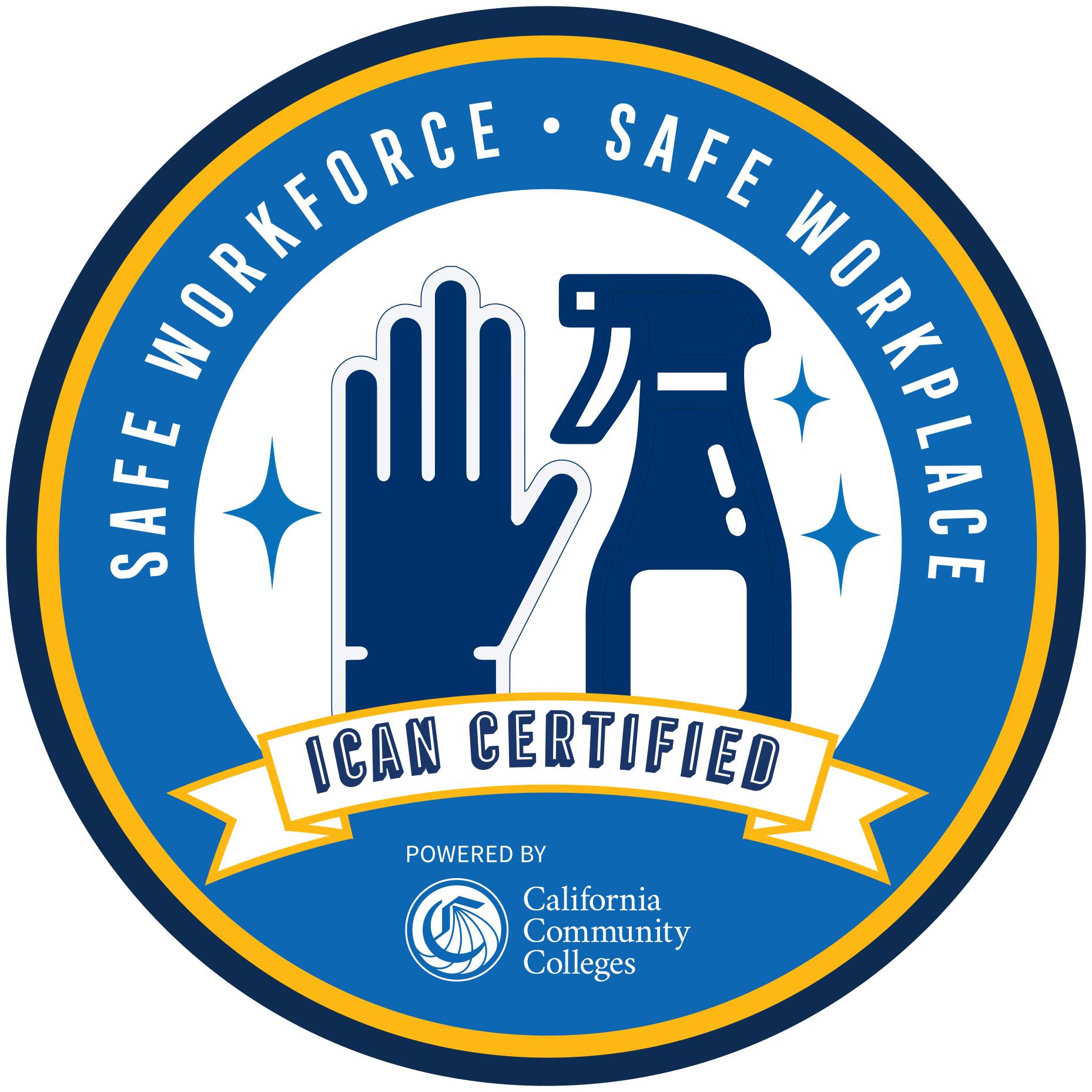 ICAN Certified logo
